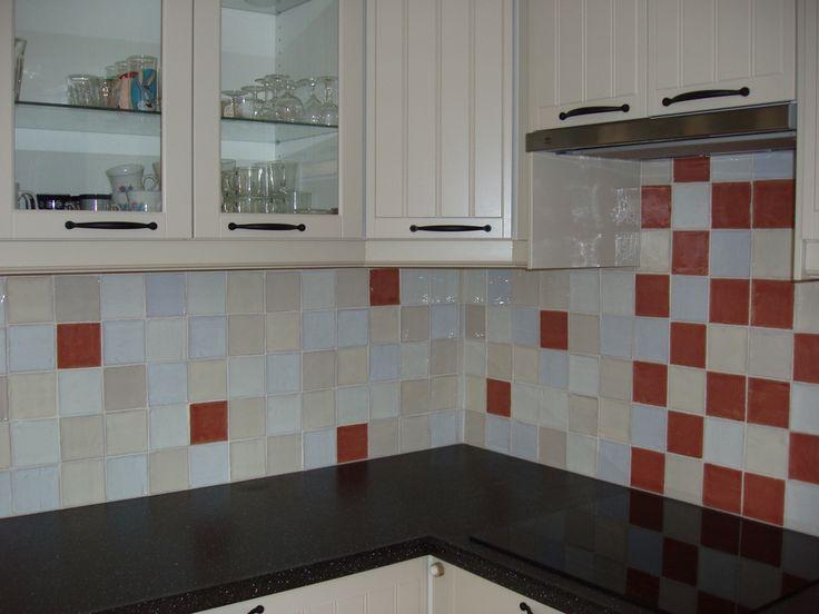 Över 1 000 bilder om tegelhuys ♥ keukenachterwand tegels / tiles ...