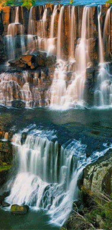Upper Ebor Falls on the Guy Fawkes River in New South Wales, Australia