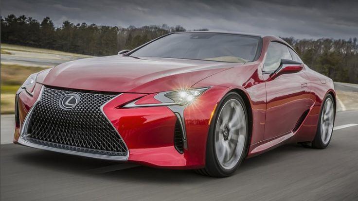 2017 Lexus LC 500 Revealed