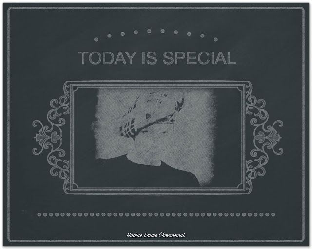 My Daily Drawings Sublimated Arts: Today is special !!!!!