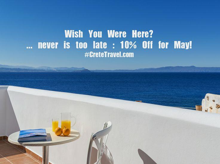 Wish You Were Here? Villa Faidra #Offer : http://www.cretetravel.com/hotel/villa-faidra/