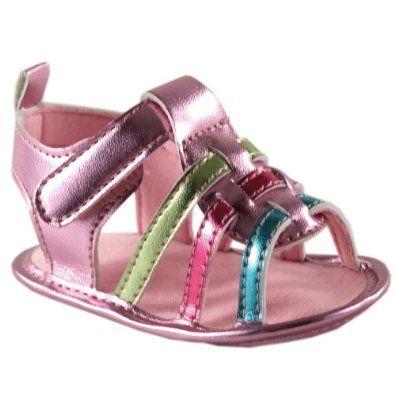 Pusat Toko Sepatu Bayi - Girl's Metallic Sandal | Pusat Sepatu Bayi Terbesar dan Terlengkap Se indonesia