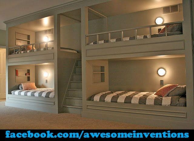 Awesome Bunkbeds 41 best awesome bunk beds images on pinterest | children, home and