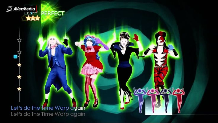 Just Dance 4 Time Warp, The Rocky Horror Picture Show Cast (Dance creew) 5*