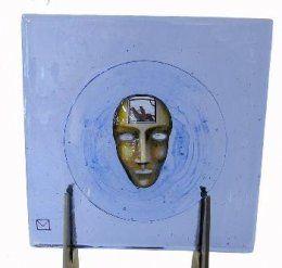 Bertil Vallien - Glaskonst - - Limiterat Square Beställ här! Klicka på bilden.