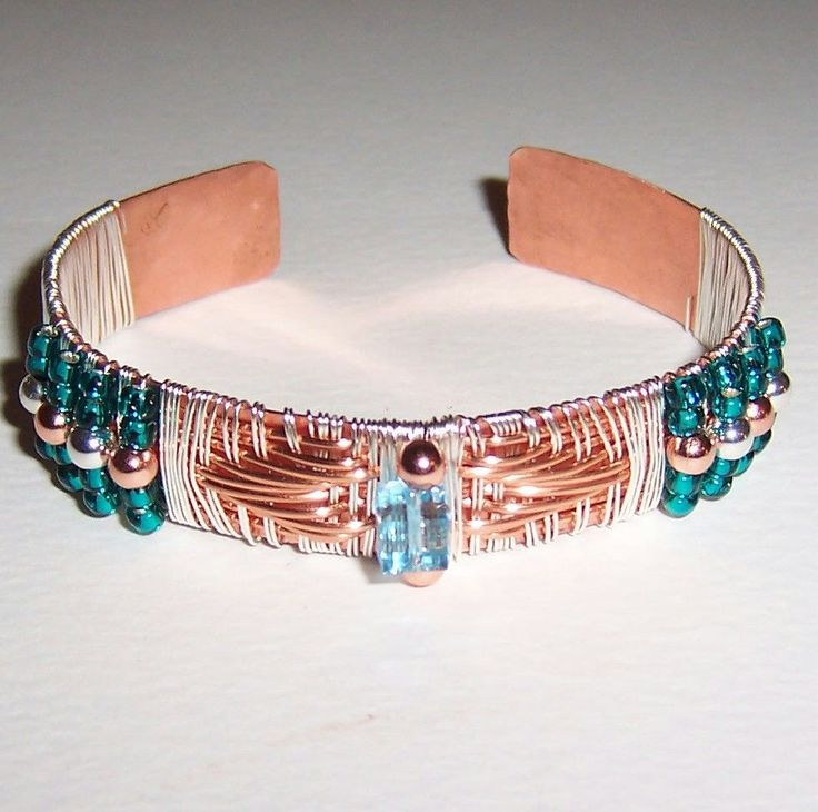 200+ best Wire Wrapped Cuff Bracelets images by Sandra Fluck on ...