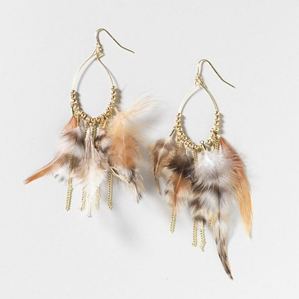 Natural Style Feather Drop Earrings go perfectly with any tribal-print lookFeathers Drop, Drop Earrings, Cat Jewelry, Nature Style, Cute Jewelry, Style Feathers, Earrings Claire'S, Natural Styles, Claire'S 2 59