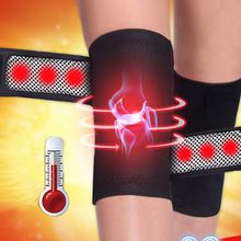 1Pair Tourmaline Self-Heating Knee Leggings Brace Support Magnetic Therapy Knee Pads Adjustable Knee Massager Health Care A2 //Price: $US $4.86 & FREE Shipping //