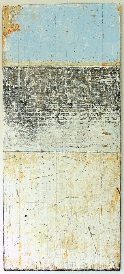 blue inside - 2013 - 114 x 50 x 2,1 cm -acrylic on timber board - Christian Hetzel - www.hetart.com