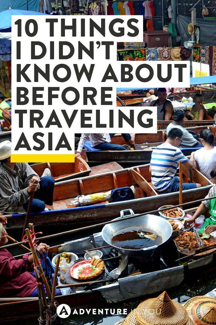 Ever experienced a serious culture shock? I have. Here are 10 things I didn't know about Asia before travelling there.