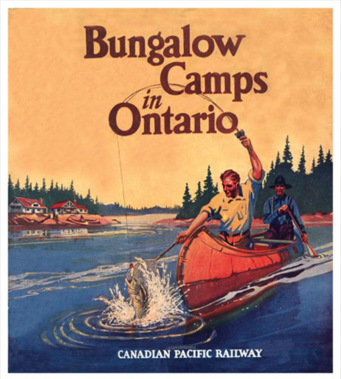 Bungalow Camps ontario CPR