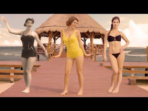 L'évolution du maillot de bain fait le buzz sur le Web! - PubdeCom
