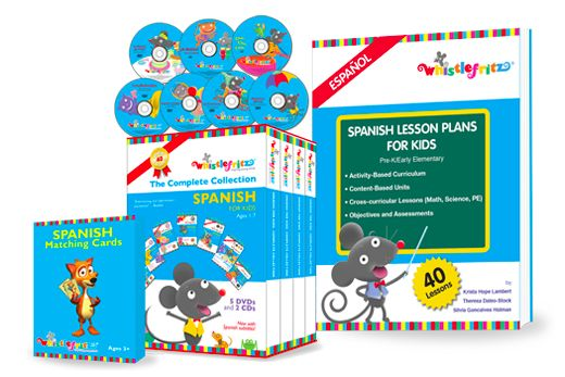 Whistlefritz's New Educator's Collection In Spanish with Lesson Plans {Giveaway}