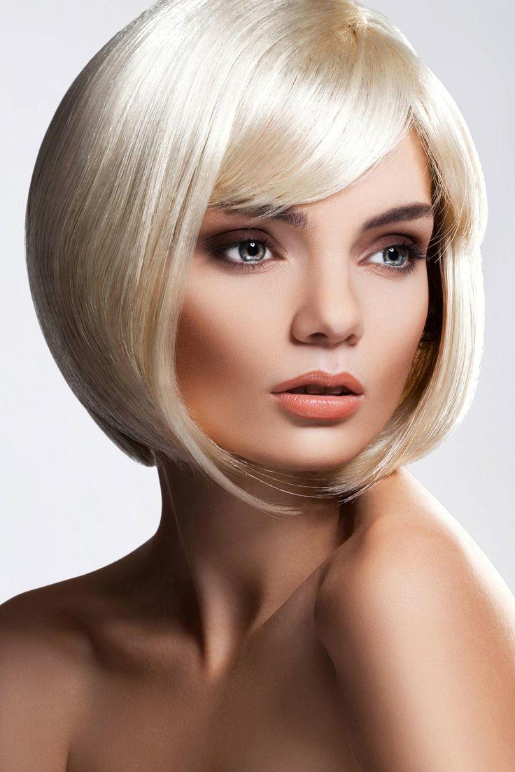 die besten 25 blonder bob ideen auf pinterest blonde bob frisuren blonde bobs und bobs. Black Bedroom Furniture Sets. Home Design Ideas