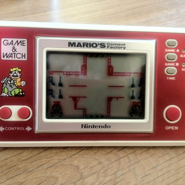 Nintendo Game and Watch - Mario's Cement Factory