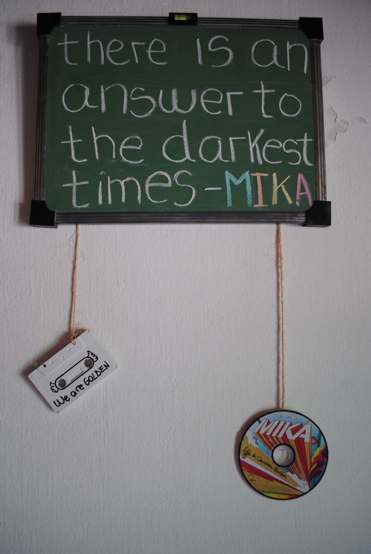 """humphreyweareleaving: relax.""  Mika quote"