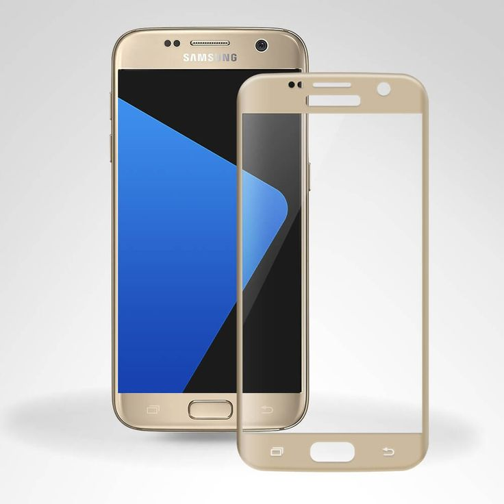 3D Curve Tempered Glass for Samsung Galaxy S7 Full Screen Protection Edge to Edge - Gold  -  Keep your Smartphone screen in pristine condition with this 3D Tempered Glass screen protector, designed to cover and protect even the curved edges of the phone's unique display. 9H hardness,anti-scratch,shatter proof,efficiently reduce the damage of scratch,scrapes,blast,and impact.