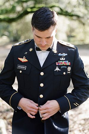 military groom- this will be my man :)
