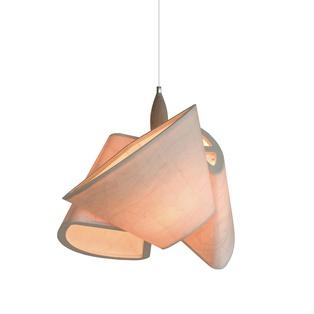 Tom Rossau adjustable birch veneer pendant lighting