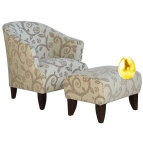 Sophia Arm chair and stool