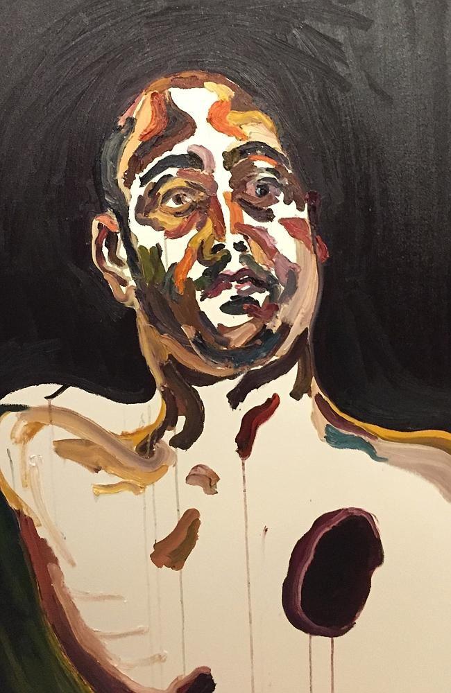 Haunting image ... a self portrait by Myuran Sukumaran