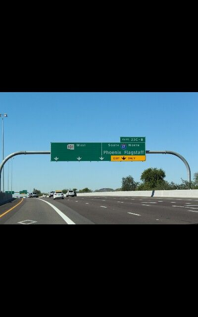 Arizona freeway