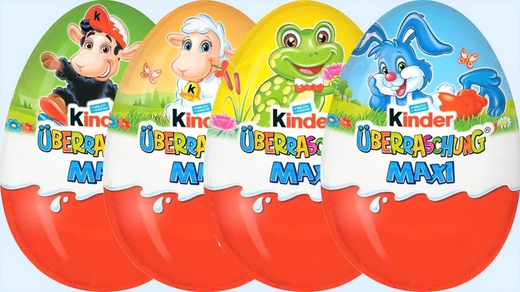 Noví Šmolkovia v Maxi Kinder Surprise Vajíčkach s prekvapením Hračky Veľ...