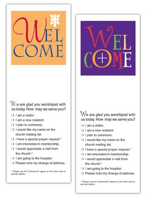 31 best Church Visitor Welcome Ideas images on Pinterest Church - exclusivity agreement template
