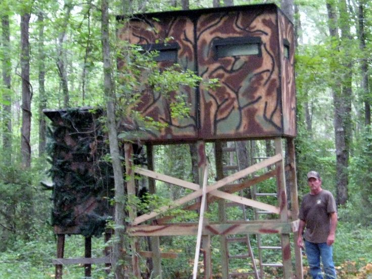 17 best images about tree stand on pinterest mansions a for Deer stand images