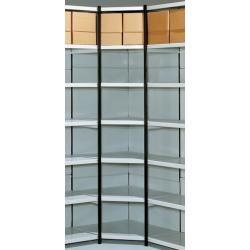 Metall-Regal in Goldfarben, 40×17 cm Villa CollectionVilla Collection