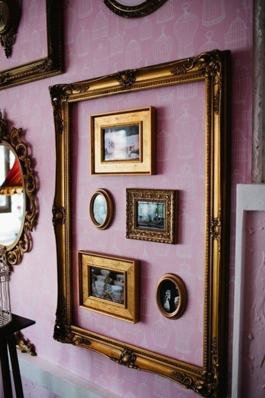 french country gallery wall - Google Search