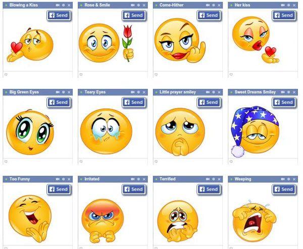 Emoticones – Simbolos, emoticones, emojis, y smileys