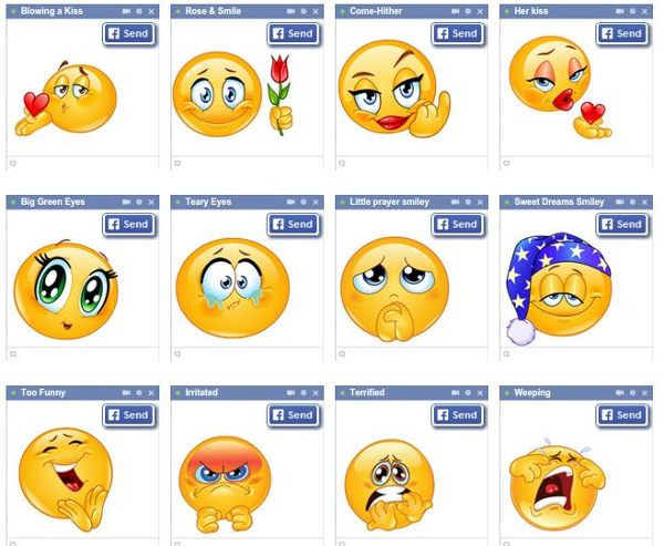 Emoticones – Simbolos, emoticones, emojis, y smileys