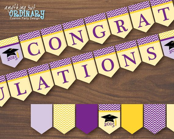 Best 25+ Congratulations banner ideas on Pinterest Pennant - congratulation templates