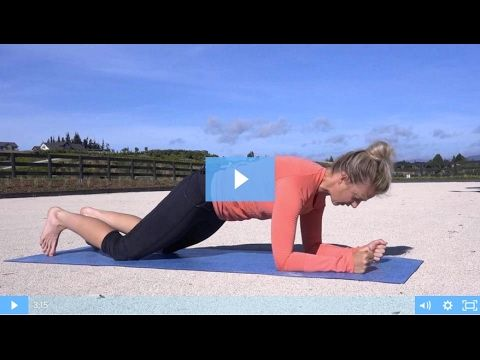 Core Exercises For Dressage -