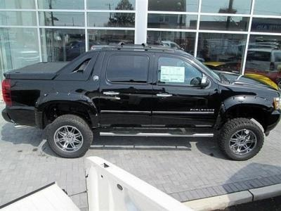 Lifted 2013 Chevy Avalanche LTZ Southern Comfort Conversion
