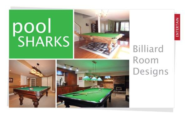 Pool Sharks! Billiard Room Designs