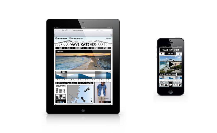 Wave Catcher Ipad website and App