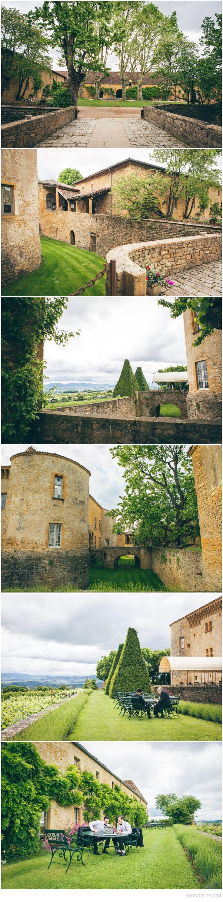 Photo mariage Chateau de Bagnols ©www.lasdecoeur.com - Photo + Cinéma