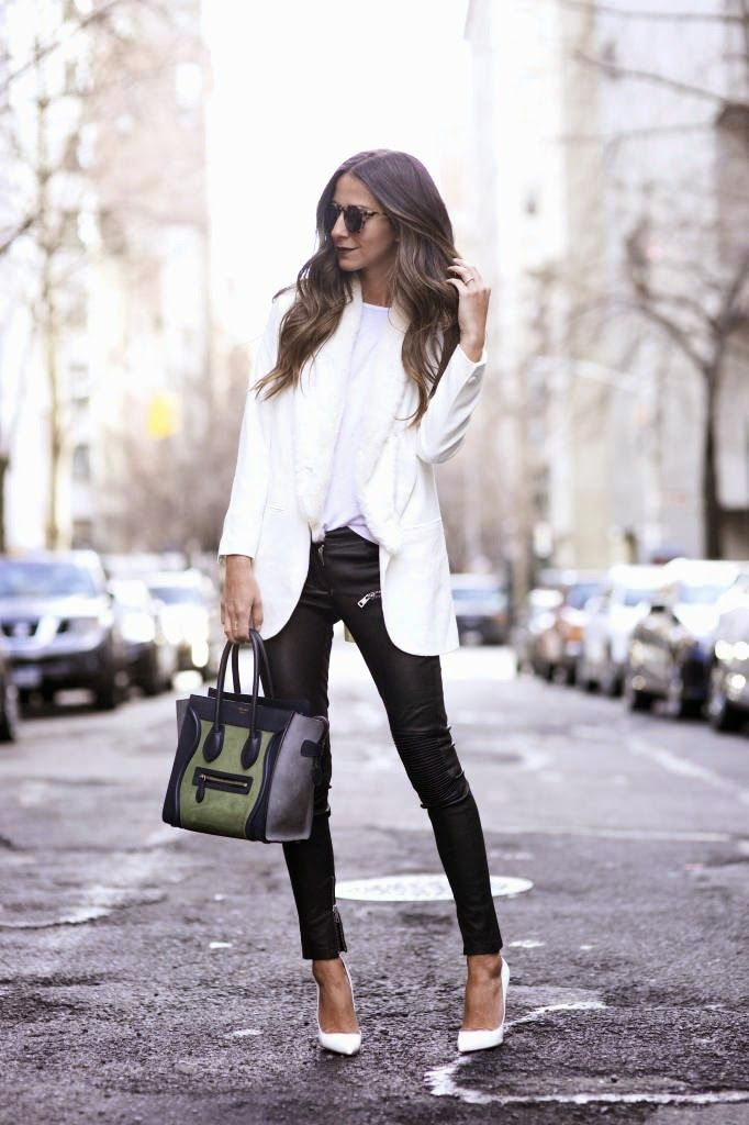 Fashion Cognoscente: Trend Alert: White Pumps