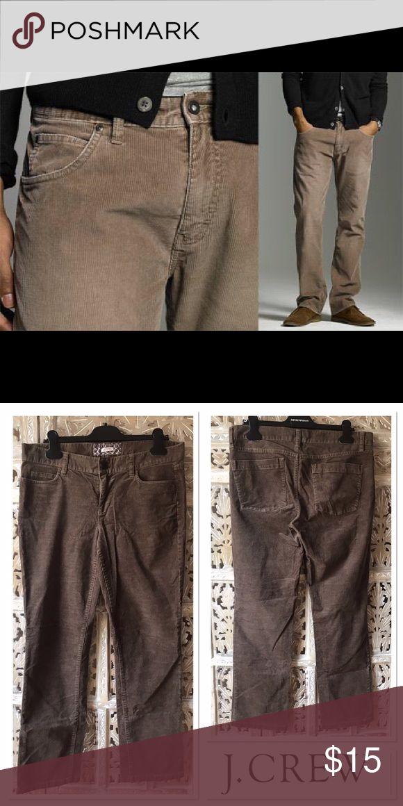 """J.Crew Men's Corduroy Pants! J.Crew Men Corduroy Pants! Color Brown! Size 31S! Inseam about 31"""". J. Crew Pants Corduroy"""