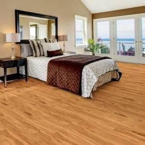TrafficMASTER Allure Plus 5 In X 36 Hamilton Oak Luxury Vinyl Plank Flooring 225 Sq Ft Case