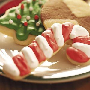 Nice 'n' Soft Sugar Cookies ~ This easy recipe yields cookies so soft they'll melt in your mouth. Have fun baking them in your favorite holiday shapes!