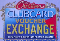 Tesco Clubcard Voucher Exchange. Why I'm tescoffed with Tesco's Clubcard exchange: http://www.helpmetosave.com/2011/11/tesco-clubcard-exchange/