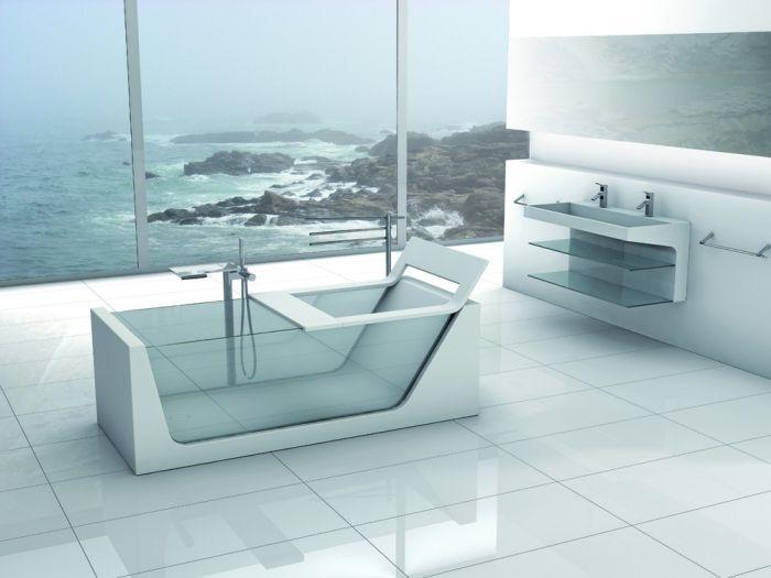glass bathtub avi #pierdeco #luxurybathtub #glassbathtub #glass #luxurybathroomdesign