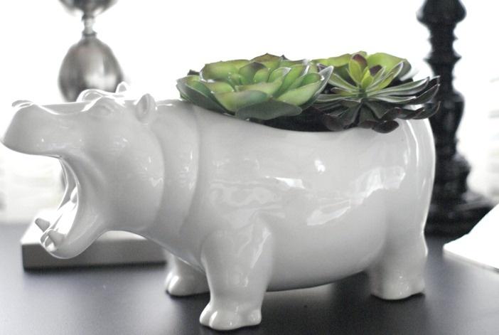 Hippo-POT-a-mus  So many hippo things @Nikole Birdsley