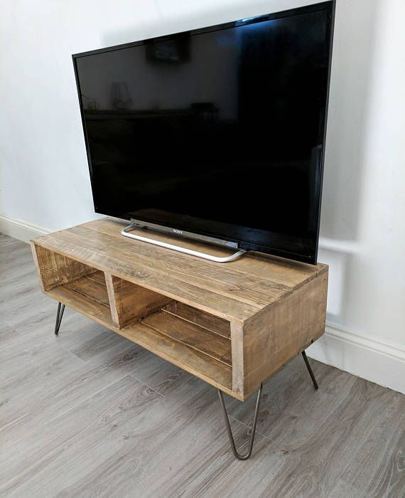Retro Tv Units Uk Part - 46: Check Out This Item In My Etsy Shop Https://www.etsy. Pallet Tv StandsLight  OakPallet ...