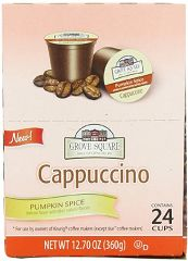 Grove Square Pumpkin Spice Cappuccino Only $.27 Per K-Cup Shipped!