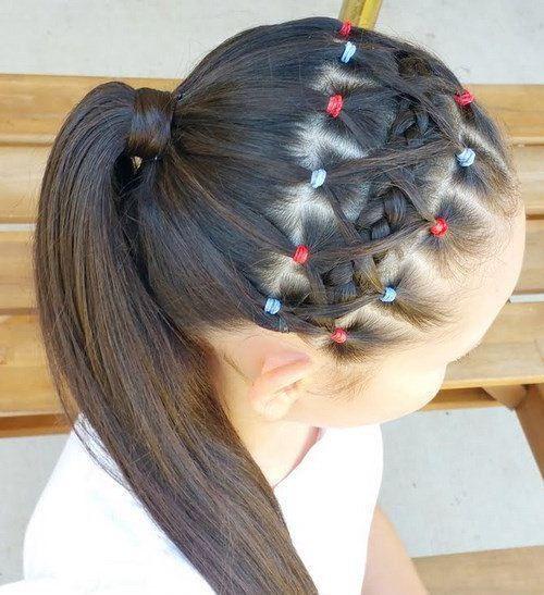 como hacer peinados con trenzas para nia paso a paso