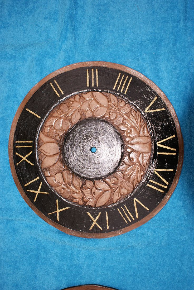 The 11 best images about leather wall clock on pinterest leather wall clock carinecelletelenet amipublicfo Gallery